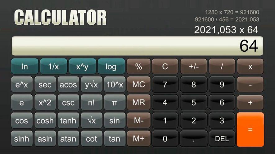 Kalkulator na Nintendo Switch
