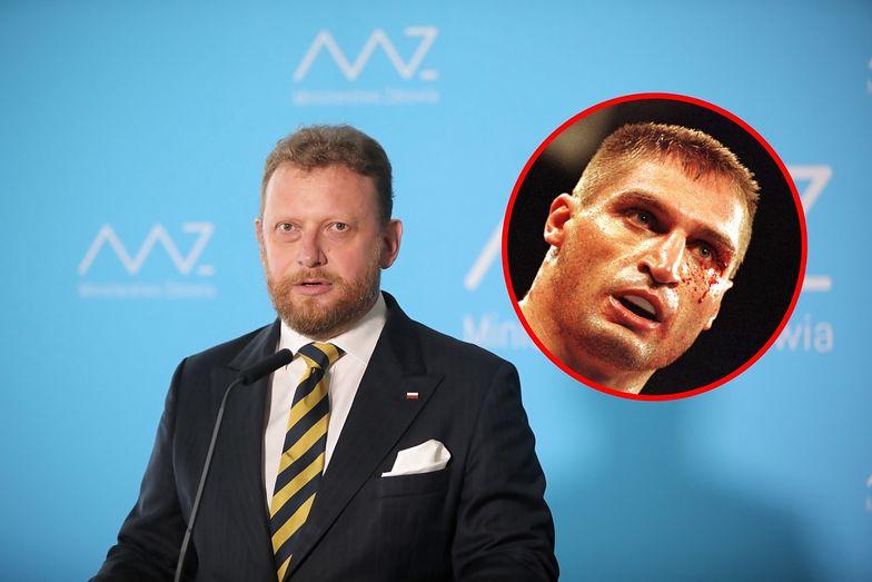 Szumowski mógł się bić z... Andrzejem Gołotą. Historia, o której mało kto wie