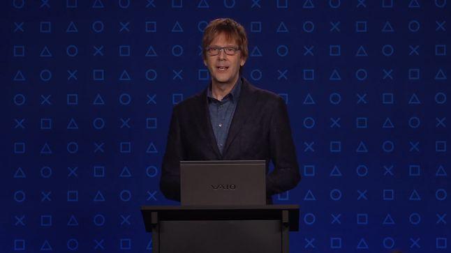 Mark Cerny, architekt konsoli PlayStation 5, który opowiadał o możliwościach konsoli, fot. Sony