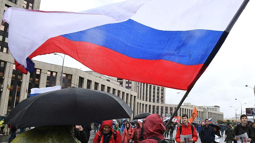 Zbliżające się wybory parlamentarne w Rosji wywołują wiele emocji (Getty Images)
