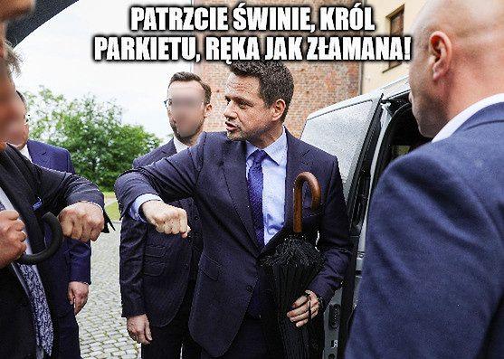 """Internauci bezlitośni wobec Trzaskowskiego. Najlepsze memy! """"DJ Rafał"""""""
