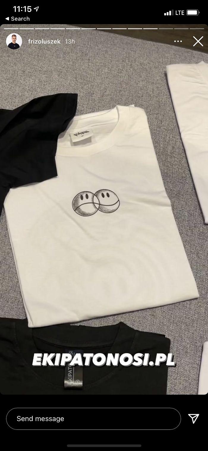 Nowe wzory koszulek od Ekipy