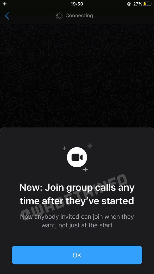 Rozmowy grupowe na iOS /fot. WABetainfo