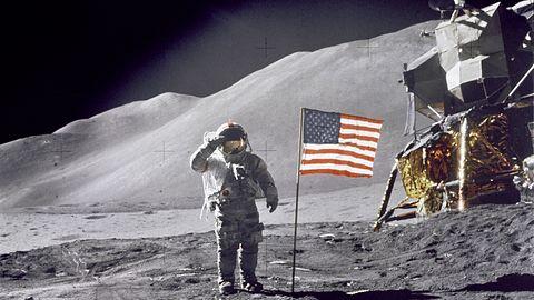Wideo z lądowania Apollo 11 na Księżycu jest stracone. NASA je skasowała