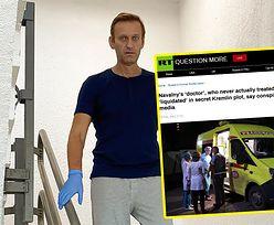 """Lekarz Nawalnego został zamordowany? Rosja o """"teorii spiskowej"""""""