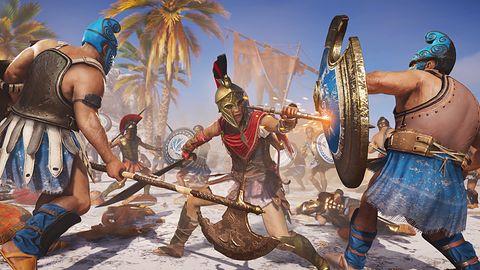 Assassin's Creed Odyssey dostępny w 60 fps na PS5 i Xbox Series X S