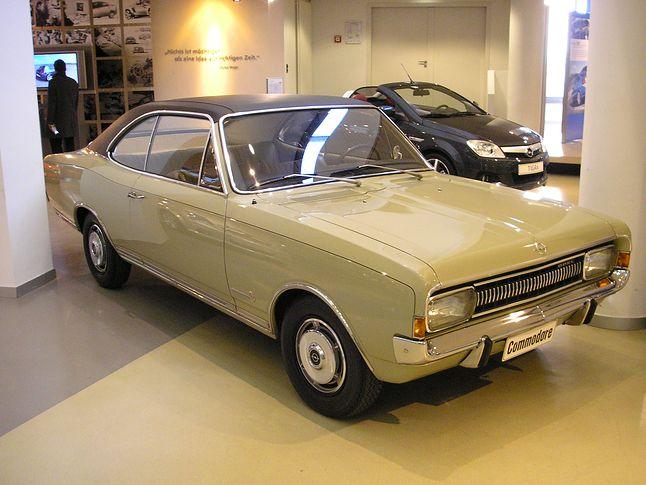 Opel Commodore.