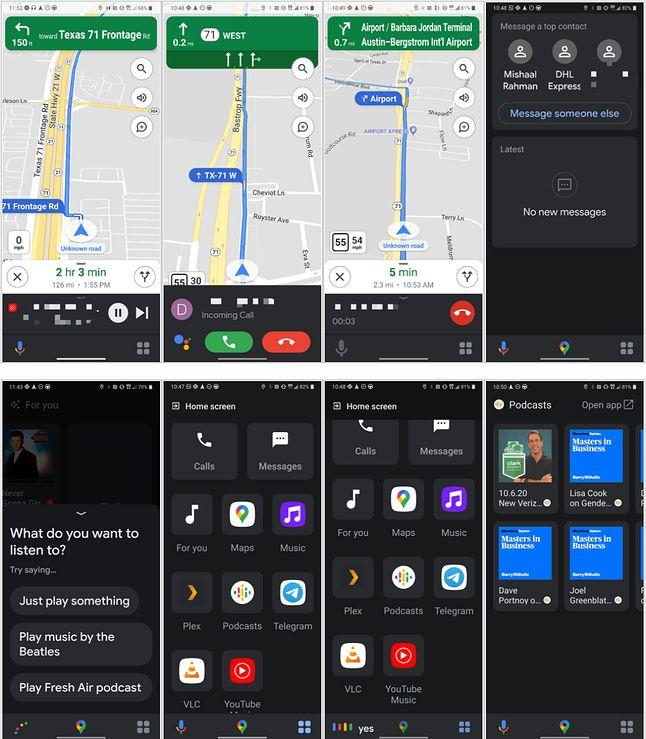 Tryb kierowcy w Asystencie Google, fot. xda developers