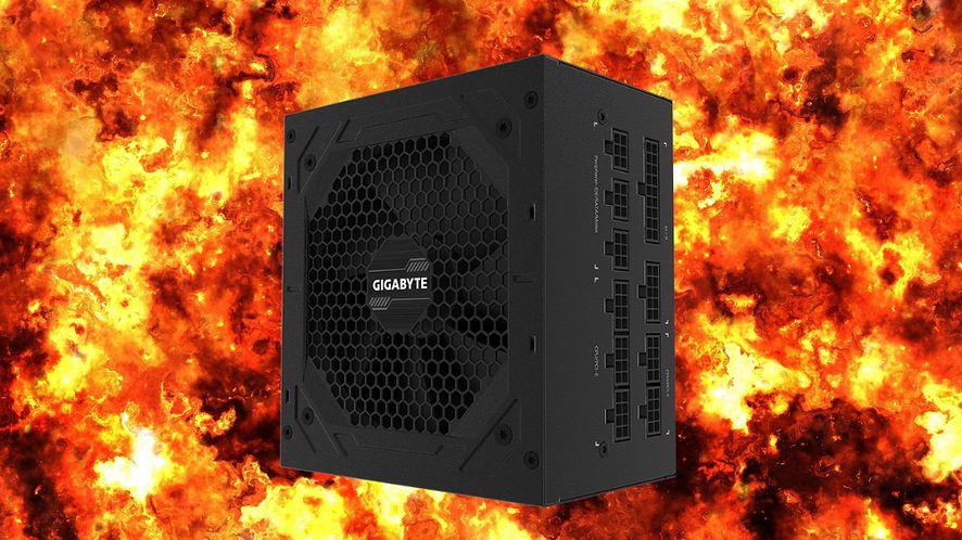 Wybuchające zasilacze Gigabyte. Producent odpowiada recenzentom