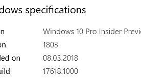 Sets, czyli karty znane z przeglądarek, wreszcie trafił do jawnego programu testów – omawiamy Windows 10 w kompilacji 17618