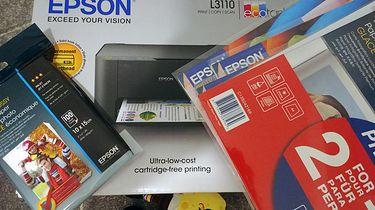 Tanie, cebulowe drukowanie z Epson EcoTank L3110