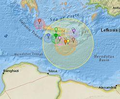 Silne trzęsienie ziemi w okolicach Krety. Sześć stopni w skali Richtera