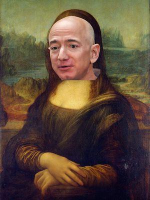 Petycja, aby Jeff Bezos zjadł Mona Lisę, nie jest tak głupia, jak się wydaje