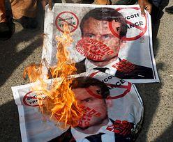 """Macron w """"The New York Times"""" krytykuje media z USA i Wielkiej Brytanii"""