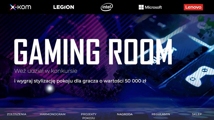 Wygraj Gaming Room o wartości 50.000 zł! Konkurs x-kom & Lenovo