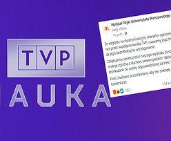 Uniwersytet Warszawski wycofuje ogłoszenie. Chodziło o pracę w TVP