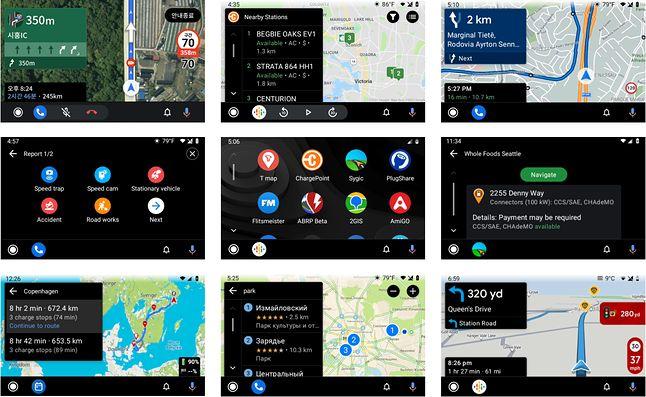 Android Auto jest już otwarty na aplikacje firm trzecich, fot. Blog Android Developers.