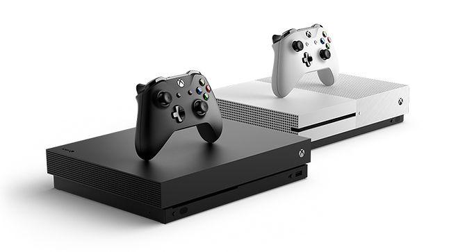 Xbox One X oraz Xbox One S. Źródło: Microsoft