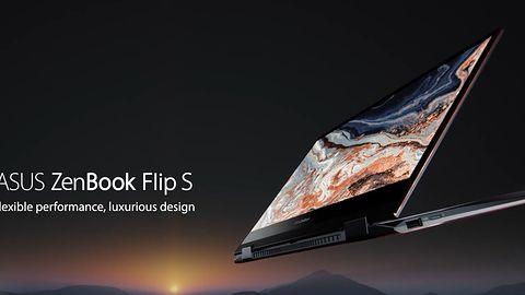 ASUS ZenBook Flip S: konwertowalny, cienki laptop z 4K OLED i rysikiem