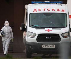 Koronawirus. Tragiczna doba w Rosji. Tak źle jeszcze nie było