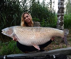 Polka rekordzistką. Złowiła rybę-giganta