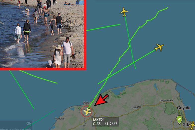 Boeing krąży nad Bałtykiem. Z pewnego powodu są to niepokojące wieści