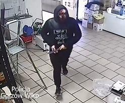 Groził nożem i zażądał pieniędzy. Zamaskowany bandyta w rękach policji