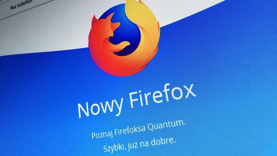 Popularność Firefoksa spada, dziś używa go mniej niż 10% internautów