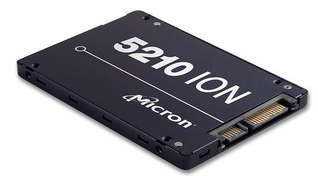 Micron 5210 ION Enterprise: pierwszy dysk SSD z pamięciami flash NAND QLC