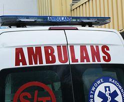 Tragedia w Radomiu. Pacjent nie żyje. Przez dwa dni leżał w rowie obok szpitala