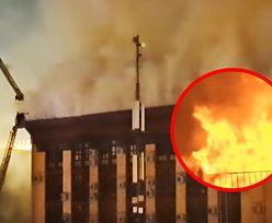 Pożar w centrum Moskwy. Ewakuowano urzędników
