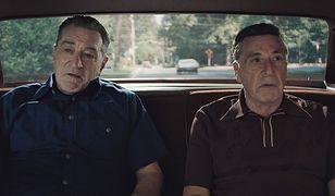 "Robert De Niro i Al Pacino w ""Irlandczyku"""