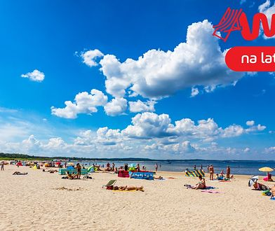 Nadbałtyckie wybrzeże w Świnoujściu to plaża o szerokości aż 200 m