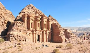 Jeden z siedmiu cudów nowożytnego świata w Jordanii