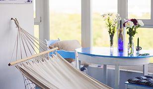 Hamak to doskonała forma wypoczynku nie tylko w ogrodzie