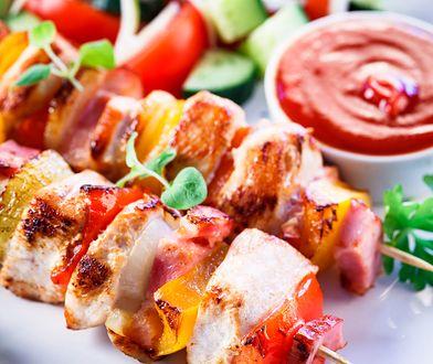 Gotowe mięso na grilla