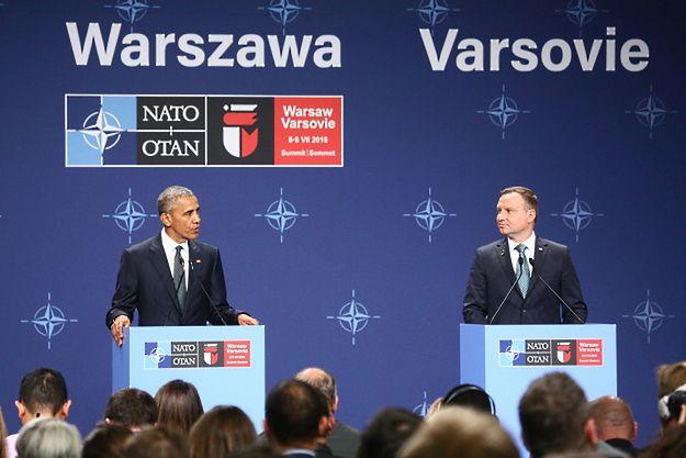Amerykańskie media, relacjonując szczyt, koncentrują się na słowach Obamy o TK