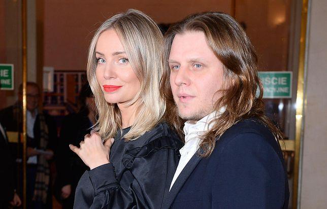 Piotr Woźniak-Starak z żoną Agnieszką