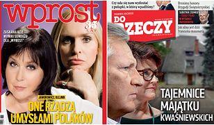 """Przegląd tygodników: najbardziej wpływowe Polki i tajemnice śmierci posła we """"Wprost"""""""