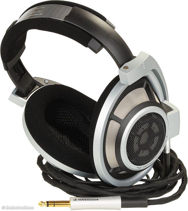 Przykładem profesjonalnych słuchawek są Sennheiser HD 800
