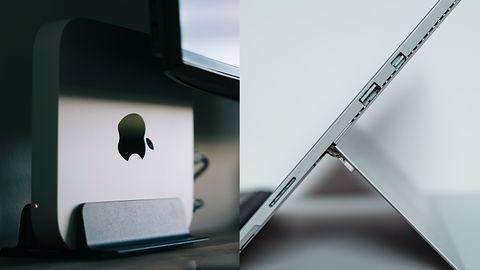 Apple zawstydził Microsoft: Mac M1 odpala Windowsa szybciej niż Surface