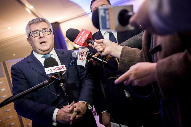 """Tylko w WP. """"Współczuję"""". Czarnecki odpowiada Thun"""