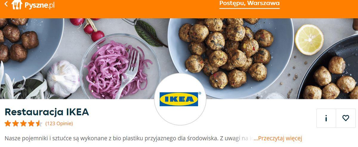 Klopsiki raz! Jedzenie z Ikei zamówisz na wynos