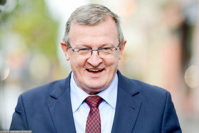 Tadeusz Cymański zapewnia, że Solidarna Polska nie targuje się o stanowiska w rządzie