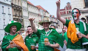 Kibice z Irlandii