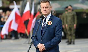 Mariusz Błaszczak o stanie wyjątkowym. Minister zabrał głos