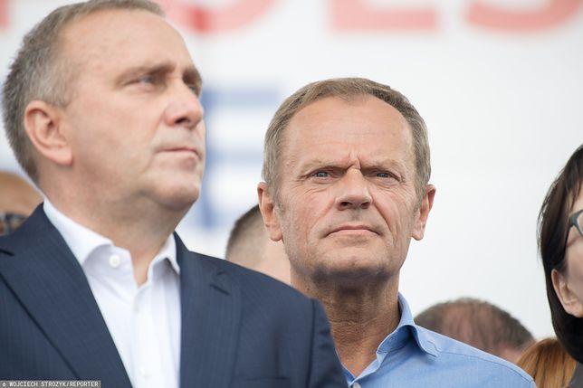 Grzegorz Schetyna spotkał się z Donaldem Tuskiem