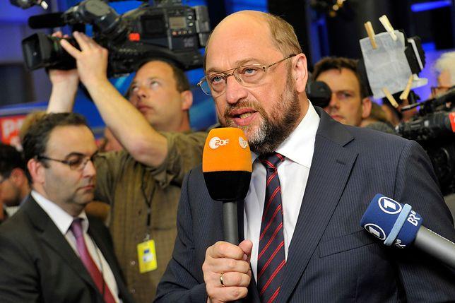 Martin Schulz zapowiedział przejście jego partii do opozycji