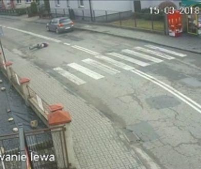 Ku przestrodze! Policja pokazała tragicznie wyglądające potrącenie