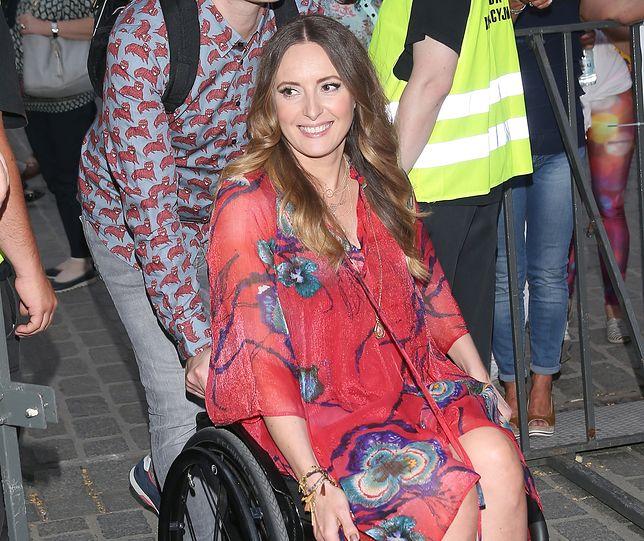 Monika Kuszyńska od wypadku w 2006 r. porusza się na wózku inwalidzkim